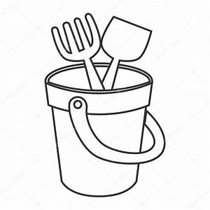 Shovel Clipart Black And White | Free download best Shovel ...
