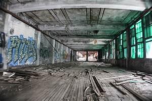 Inside Detroit Packard Plant Photograph by John McGraw