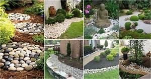 Cheap, Diy, Stone, Decor, To, Make, Your, Garden, Look, Like, A
