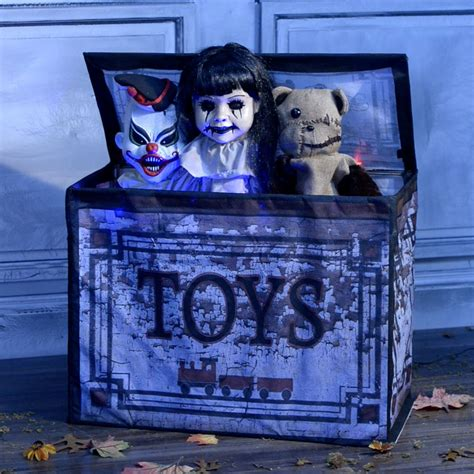 animated haunted toy box     party city
