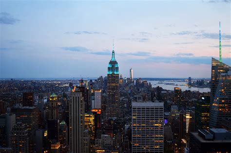 Best Time To Visit Top Of The Rock New York City?