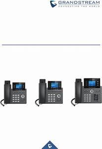 Grp2612p Ip Phone User Manual Grandstream Networks