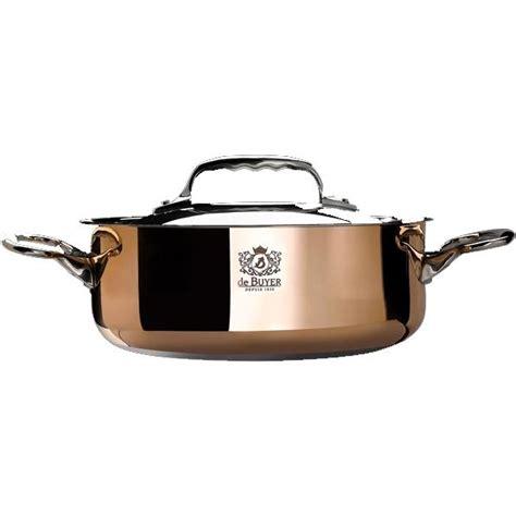 sautoir cuisine de buyer sautoir couvercle cuivre prima matera ø 20