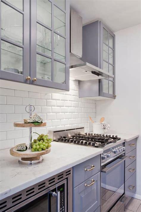 ikea gray kitchen cabinets gray ikea kitchen cabinets with white beveled subway tile 4434