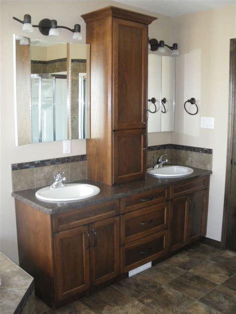 double sink vanity ideas  pinterest double