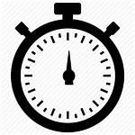 Symbol Efficiency Stopwatch Icon Effectiveness Productivity Measure