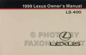 1999 Lexus Ls 400 Repair Shop Manual Original 2 Volume Set