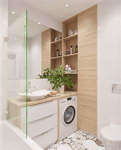 idee decoration salle de bain salle de bain blanche With salle de bain blanche et bois