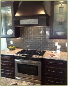 subway tiles backsplash kitchen gray subway tile kitchen backsplash home design ideas