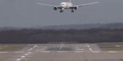 Landing Planes Plane Boeing Crosswind Fly Landings