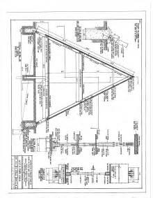 frame house plans free a frame cabin plans blueprints construction documents sds plans