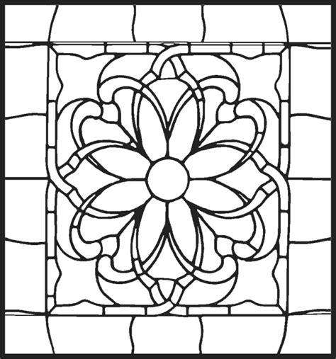 Kleurplaat Glas In Lood Vormen pin mooie kleurplaat inkleuren of een tekening maken voor