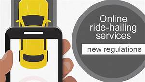 Online ride-hailing services new regulations