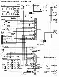 Wiring Diagram 1992 Oldmobile