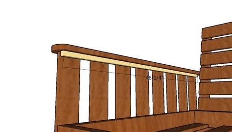swing bed plans  diy plans howtospecialist