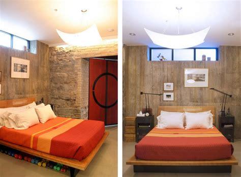 chambre indus decoration chambre industrielle idées de décoration et