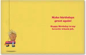 Trump Funny Birthday Card