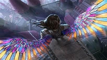 Fantasy Magic Gathering Angel Wings Artwork Kb