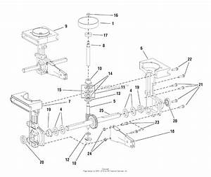 Snapper Mc43e  1695764  43cc 2 Cycle Mini Cultivator Parts Diagram For Transmission Group