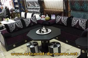 photo canap marocain amazing canap marocain bois with With tapis persan avec canapé convertible habitat occasion