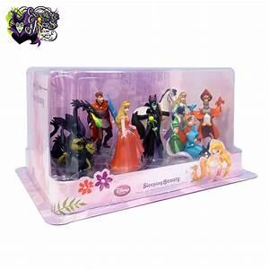 Disney Store 'Sleeping Beauty' Deluxe PVC Figurine Playset