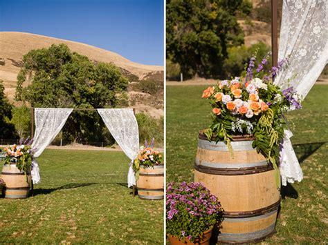 rustic diy backyard wedding
