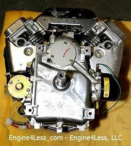 Briggs And  U0026 Stratton 445777 25 Hp Lawn Rider Engine Bn