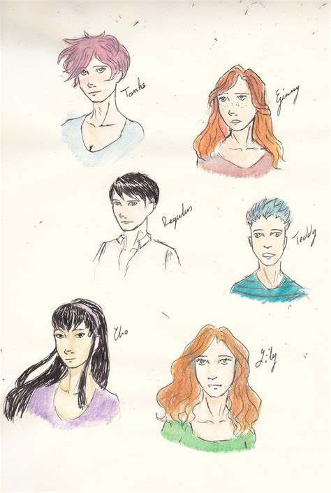 Hp Characters By Rosevalyn On Deviantart