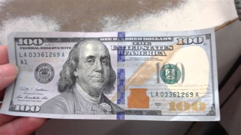 New 100 Usd Bill, Silly  Youtube