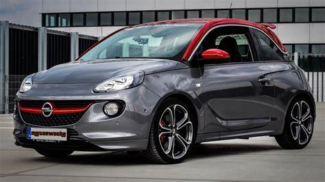 Opel Germany by Motorwoche Opel Adam S Test German