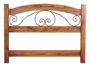 rustic iron and solid wood headboards tres amigos world