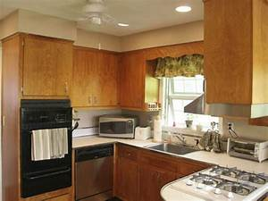 how to give your kitchen cabinets a makeover hgtv With kitchen colors with white cabinets with gps tracking sticker