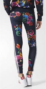 Floral Burst Leggings For Women By Adidas