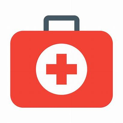 Aid Kit Icon Sign Transparent Med Safety