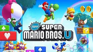New Super Mario Bros U Game World Is Packed With Great