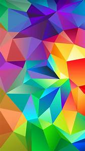 Colorful Abstract Shapes Galaxy S7 Wallpaper (1440x2560)