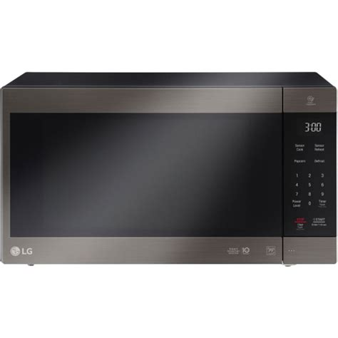 lg microwave reviews countertop lg 2 0 cu ft neochef countertop microwave in black