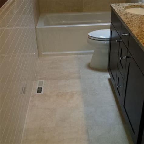 bathroom floor tile layout   easy steps diytileguy