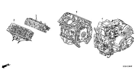 Acura Online Store Engine Assy Transmission
