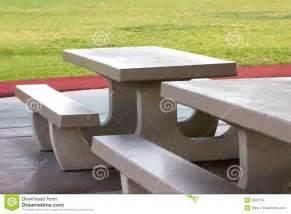 precast concrete picnic tables concrete picnic tables stock photo image of park cast