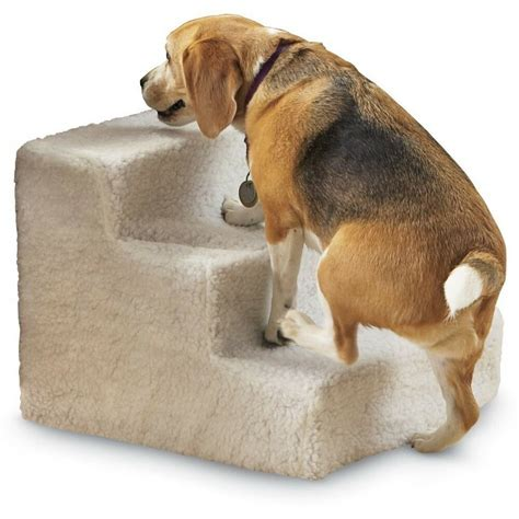 step stairs pet dog cat soft covered staircase