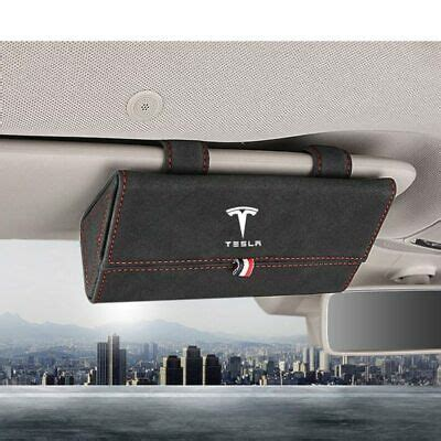 View Tesla 3 Sunvisor Clip Pictures