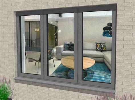 flush casement windows thermally broken residential aluminium windows duration windows