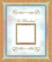family reunion booklet templates With in memoriam cards template