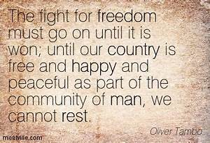 Quotes about Ou... Country Freedom Quotes