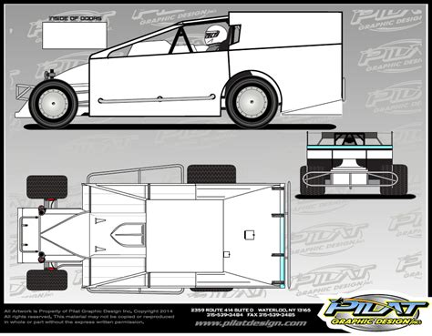 race car graphics design templates dirt modified with sail images frompo