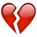 💔 Broken Heart Emoji (U+1F494/U+E023)