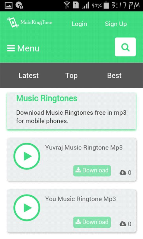 Mp3 Free For Mobile by Ringtones Free In Mp3 For Mobile Phones