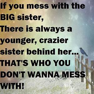 31 Funny Sister Quotes and Sayings with Images