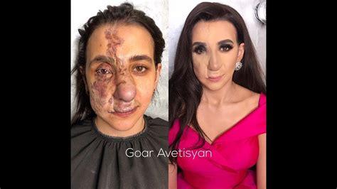 20 женщин до и после макияжа которых визажист изменил просто до неузнаваемости.